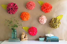 diy photo backdrop tissue paper flower backdrop