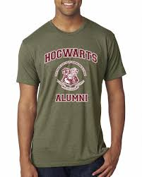 harry potter alumni shirt hogwarts alumni harry potter mens premium tri blend