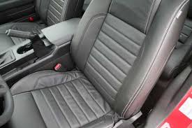 2010 mustang seat covers newtakeoff releases oem leather for the 2005 2010 ford mustang
