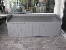 Deck Storage Bench Lowes Outdoor Storage Benches Storage Decorations