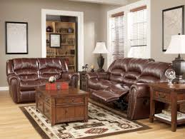 Faux Leather Recliner Malaga Rustic Modern Faux Leather Recliner Sofa Couch Set Living