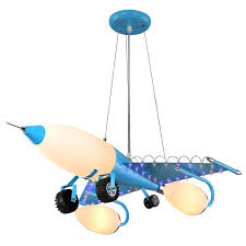 boys room light fixture online shop personality retro chandeliers aircraft lights boys