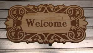 ornate welcome sign signtorch turning images into vector cut paths