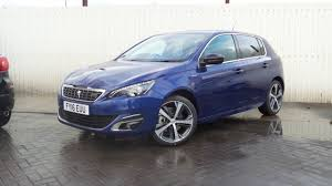peugeot car and insurance package 2016 16 peugeot 308 2 0 bluehdi 150ps gt line 5 door in magnetic
