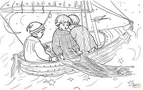 wynken blynken and nod coloring page free printable coloring pages