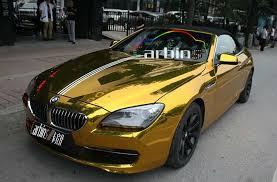 gold foil wrap stretch chrome gold vinyl car wrap foil high gloss mirror without