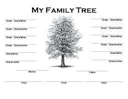 printable free family tree template family tree template word family tree template free printable word