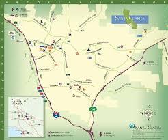 santa map santa clarita maps valencia ca maps