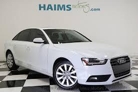 audi a4 used 2013 used audi a4 4dr sedan cvt fronttrak 2 0t premium at haims