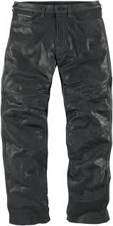 leather motorcycle pants icon 1000 roughshod leather motorcycle pants black