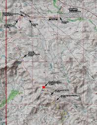 Arizona Spring Training Map by The Course Black Canyon Ultras