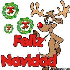 imagenes animadas de renos de navidad imágenes de renos de navidad