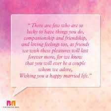 wedding wishes exles awesome wedding quotes for friends getting married wedding card