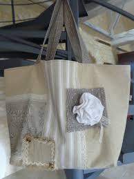 sac cabas lin fleur de lin création