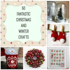 50 christmas and winter craft ideas christmascrafts roundup