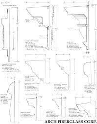 cornice arch fiberglass