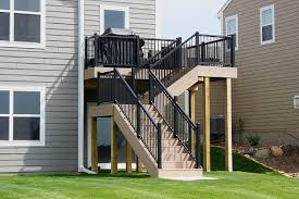 harmony railing aluminum deck railings