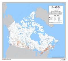 A Map Of Canada by This Is How Empty Canada Really Is Photos