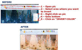 what happened to inverting colors in paint