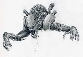 aliens sketch by ryn0saur on deviantart