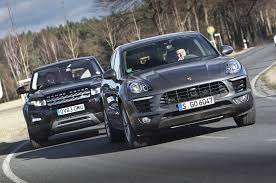 porsche suv 2015 porsche macan vs range rover evoque one of these is the best