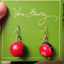 sterling silver earrings sensitive ears vera bradley earrings nwt sensitive ears vera bradley and