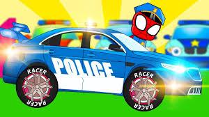 monster truck crash videos youtube spiderman police vs gangster monster trucks crashes vehicles