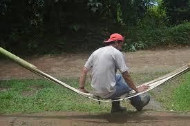 crazu net survival strap bamboo hammock