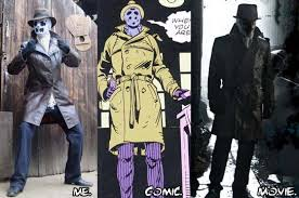 Rorschach Halloween Costume Grappling Gun