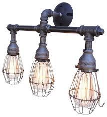 Industrial Bathroom Lights Best Bronze Bathroom Light Fixtures And Vanity Lighting Industrial