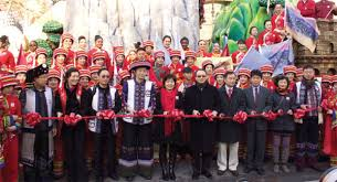 parade ribbon kunming has day in sun at parade top stories chinadaily cn