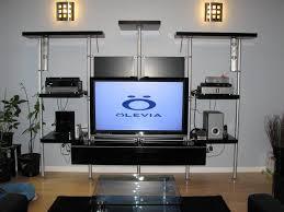 decorations black tv wall unit entertainment center wall units