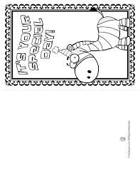 printable birthday cards that you can color printable birthday card to color free clipart