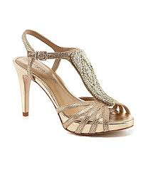 wedding shoes dillards antonio melani nadelle platform jeweled dress sandals dillards