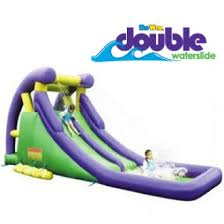 Backyard Water Slide Inflatable by Double Water Slide Inflatable Water Park