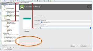 activity android android studio error package name is not set to a valid package
