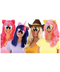 halloween eye glasses my little pony cartoon eyes girls costumes kids halloween costumes