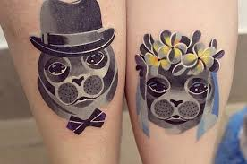 43 adorable couples tattoos that will stand the test of