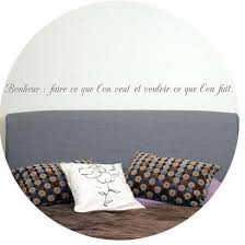 stickers muraux citations chambre sticker citation chambre