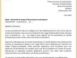 rapport de stage 3eme cuisine lettre de motivation stage exemple 3eme de psco careoh org