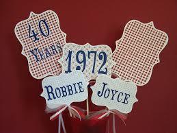 40th anniversary ideas 40th anniversary invites 40th anniversary invitations uk