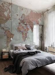Wallpaper Designs For Bedrooms Classic World Map Wallpaper Wall Mural Muralswallpaper Co Uk