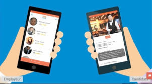 bureau de placement restauration trois applications mobiles pour recruter des extras dans restaurant