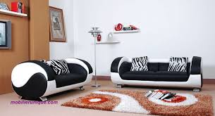 créer canapé ensemble de canapé en cuir 3 3 places rondo