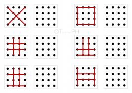 line pattern worksheet worksheet 6 copy line patterns 16 dots my little ot corner