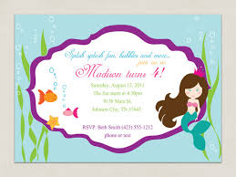 items similar to printable invitation mermaid party collection
