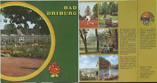 Stadtplan Bad Oeynhausen Reiseprospekte Deutschland Nordrhein Westfalen 01