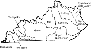Cumberland River Map Evolution Of A Watershed Management Framework In The Kentucky