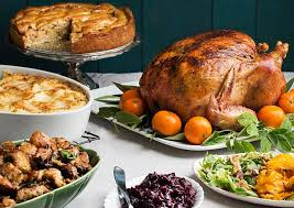 a thanksgiving feast that is easy to make and decorate beautifully