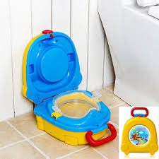 Travel potty for kid emergency toilet for outdoor camping car
